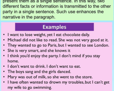 English Compound Sentences and 12 Examples